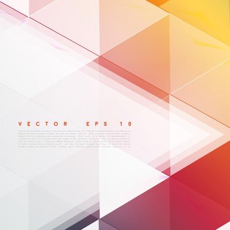 Vector background abstract polygon triangles. Ilustração