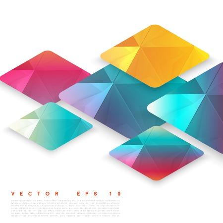 iterative: Vector design rhombus