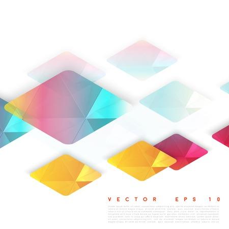 rhombus: Vector design rhombus