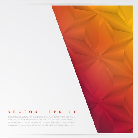 Vector background abstract polygon triangles. Vector