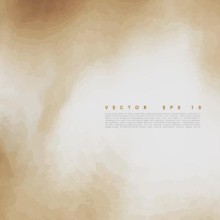 scorched: Vector Old paper background. Illustration