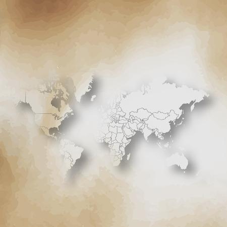 old paper background: Vector Old paper background. Illustration
