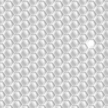 Muster Hexagon Gelb Auf Weißem Hintergrund Lizenzfrei Nutzbare ...