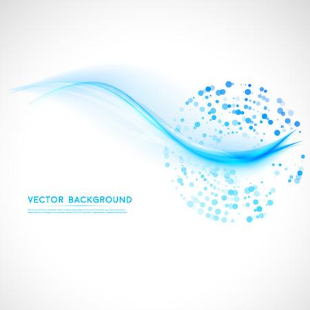 抽象的な背景ベクター波状。  イラスト・ベクター素材