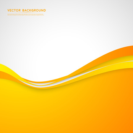 yellow design element: Vector abstract background design.