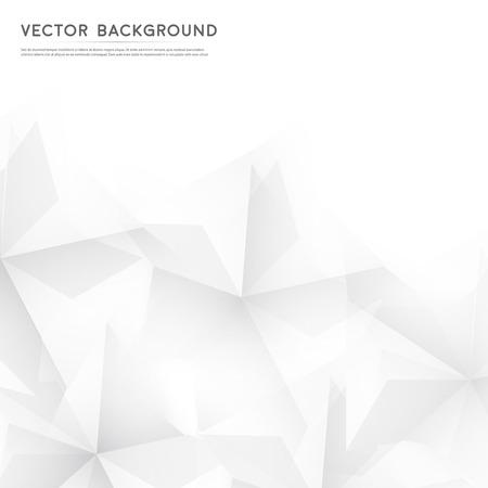 ベクトル グレー キューブから抽象的な幾何学的形。  イラスト・ベクター素材