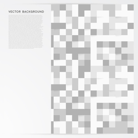 Vector background abstract squares. Vector