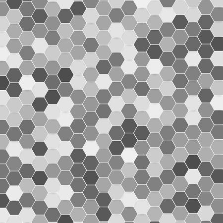 hexagonal: Vector abstract 3d hexagonal Illustration