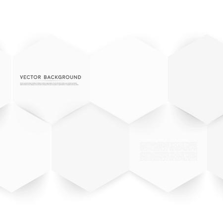 Vector abstract color 3d hexagonal. Vector