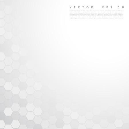 reticle: Vector abstract color 3d hexagonal.