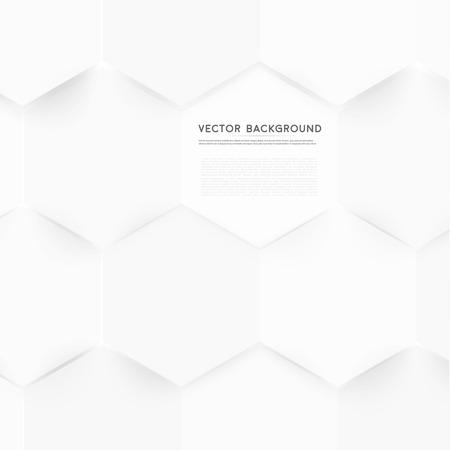 gauze: Vector abstract color 3d hexagonal.