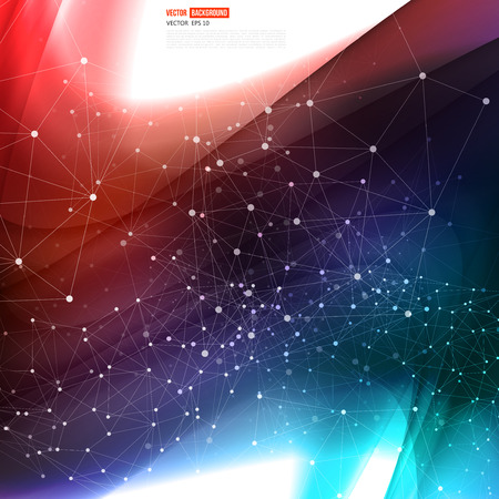 Vector abstract background design wavy. Vector