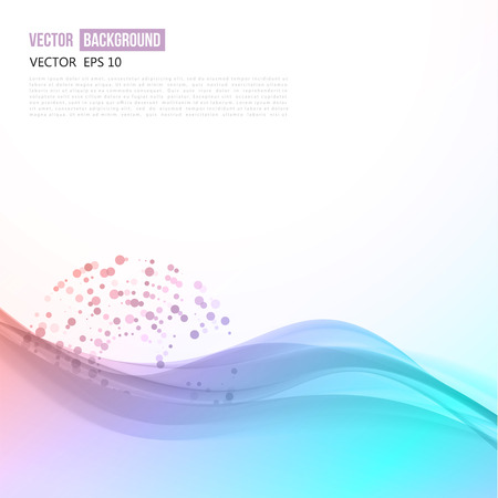 pink smoke: Vector abstract background design wavy.