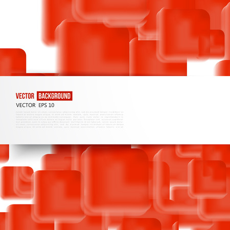 Vector Abstract geometric background Vector