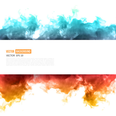 Vector blue cloud. Illustration