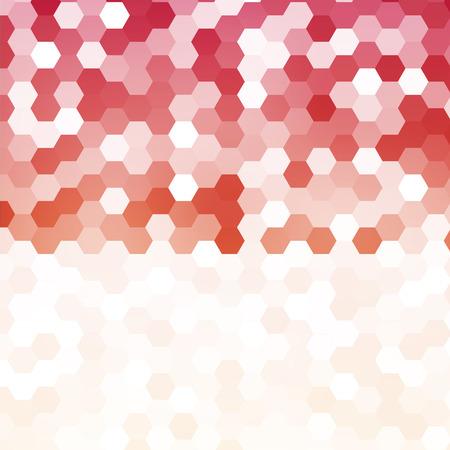 color 3d: Vector abstract color 3d hexagonal.