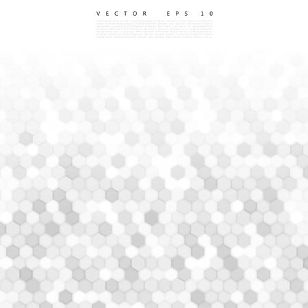 geometric background: Vector 3d abstracto hexagonal. Fondo con el elemento hexagonal