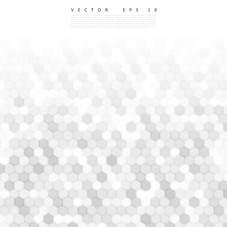 gray: Vector abstract 3d hexagonal. Background with hexagon element Illustration