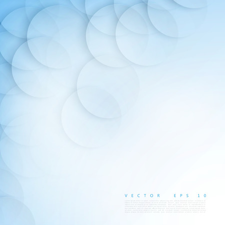 circle abstract: Vector background circles banner with drop shadows. Vector illustration Illustration