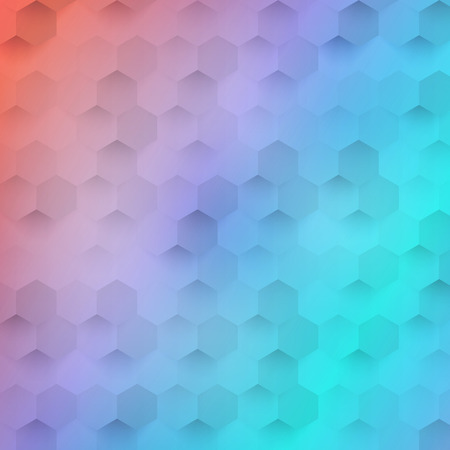 color 3d: Vector abstract color 3d hexagonal. Background with hexagon element