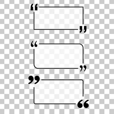 textbox: Motivation Quote. Vector set Quote text bubbles.
