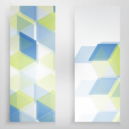 web element: Vector Abstract background. blue triangular shapes. Triangles