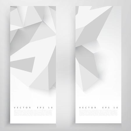 ベクター背景抽象的なポリゴンの三角形。幾何学的な多角形のデザイン