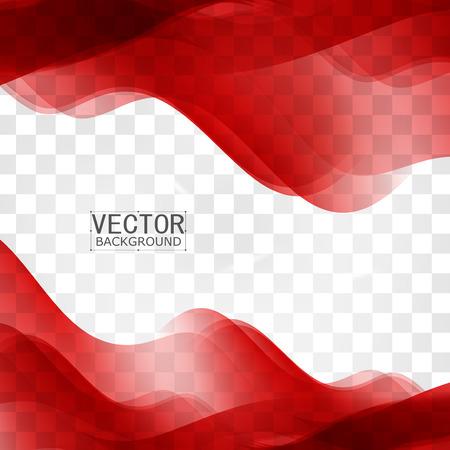 background elegant: curva fondo rojo. Resumen de vectores de fondo rojo ondulado dise�o. Folleto de la colecci�n de plantillas de dise�o y agitando Vectores
