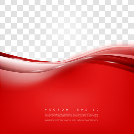 Red background curve. Vector abstract red background design wavy. Brochure design templates collection and waving