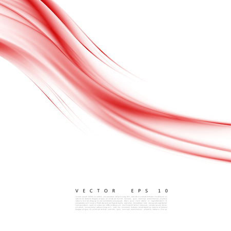 abstract smoke: Red background curve. Vector abstract red background design wavy. Brochure design templates collection and waving