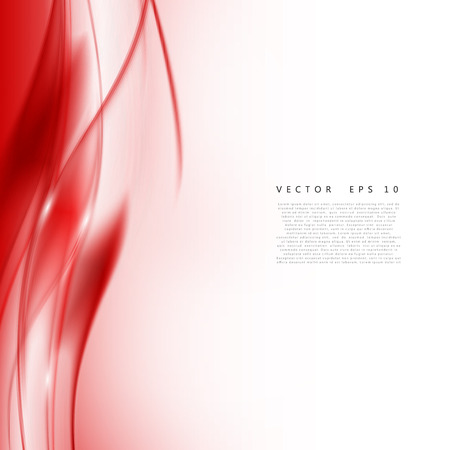 red abstract: Red background curve. Vector abstract red background design wavy. Brochure design templates collection and waving