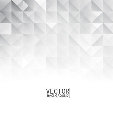 Vector Abstract forme géométrique du gris. Les carrés blancs et triangles