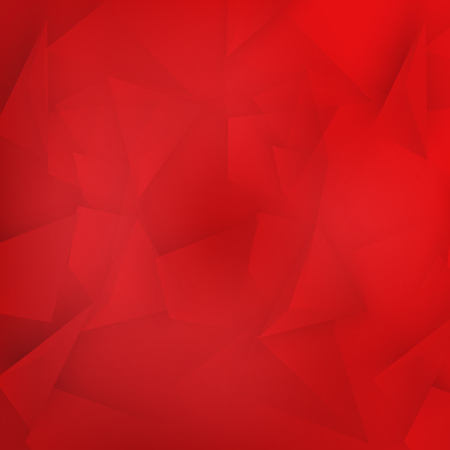 Vector background abstract polygon triangle. polygonal design geometrical. Red triangles