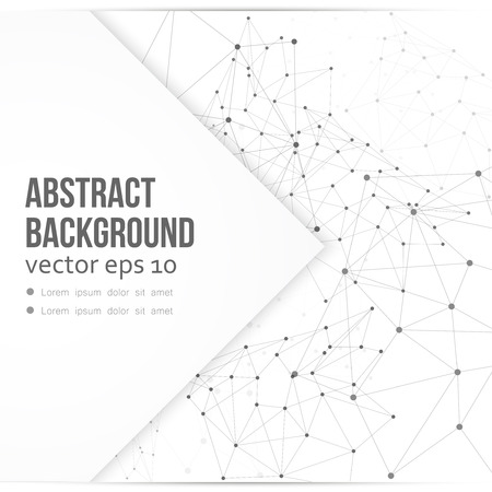 genetic material: Vector network background abstract polygon triangle. polygonal design geometrical