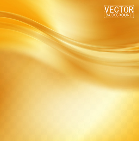 Vector Beautiful Gold Satin. Template brochure design