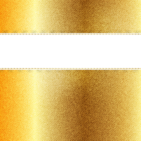 textures: Vektor Schöne Gold-Jeans Textur. Vorlage Broschüre Design