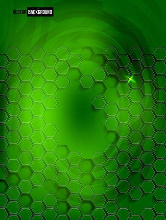abstract background Hexagon. Web