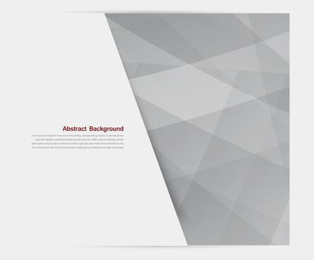 grey pattern: banner background. White paper. illustration and design