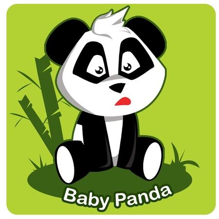 Baby Panda Illustration Stock Vector - 10819529