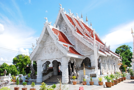 ming: Wat Ming Mueang at Nan Thailand. Beautiful temple in thailand
