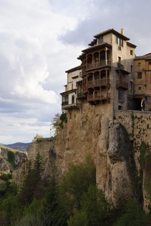 cuenca: View of the Hung Houses of Cuenca