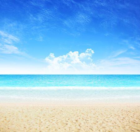 Sommerstrand Hintergrund