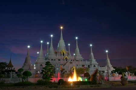 Wat Asokaram, Sumutpakran , Thailand photo