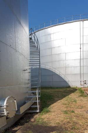 Large Molasses tank  photo