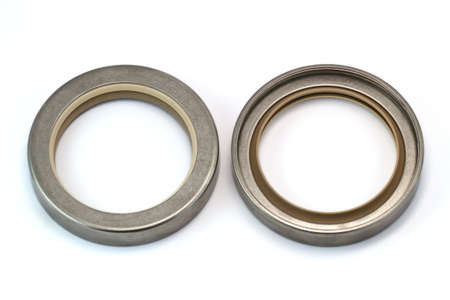 Stainless housing oil seal Stock Photo