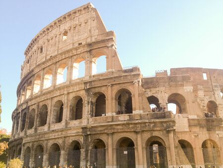 The Colosseum could hold an estimated 50,000 to 80,000 spectators. It was used for gladiatorial contests and public spectacles such as mock sea battles, animal hunts, executions, re-enactments of famous battles, and dramas based on Classical mythology.