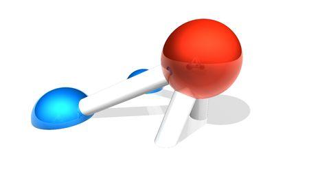 Molecule Module Stock Photo