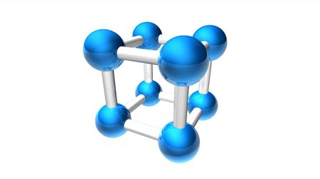 Molecule Module Stock Photo