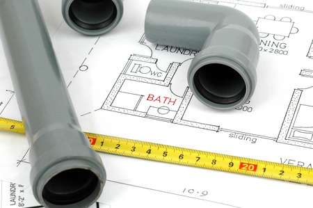 plumbing plans and plumbing material, plumbing fittingsbathroom renovation concept