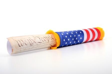 constitucion: Estados Unidos de América y la Constitución de EE.UU. bandera, EE.UU. concepto de Derecho
